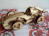 木製模型 スポーツカー