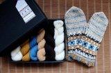 ミトンの手編みキット 3 (ゼムガレ地方1)