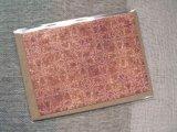 封筒付グリーティングカード(アウストラ オレンジ) 2枚セット